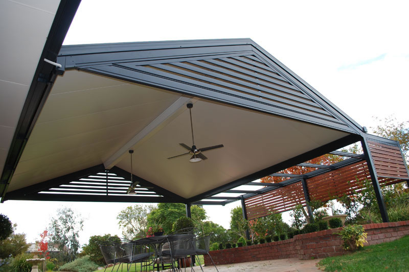 Solarspan gimme shelter for Gable patio designs